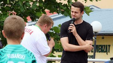 Łukasz Fabiański spotkał się z kibicami w Słubicach