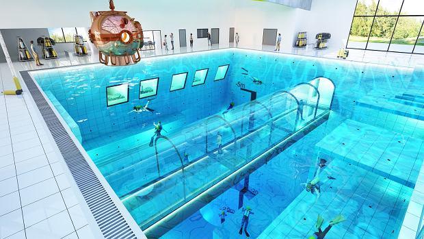 Firma Flyspot ma w planach także sale konferencyjne i pokoje hotelowe z widokiem na Deepspot