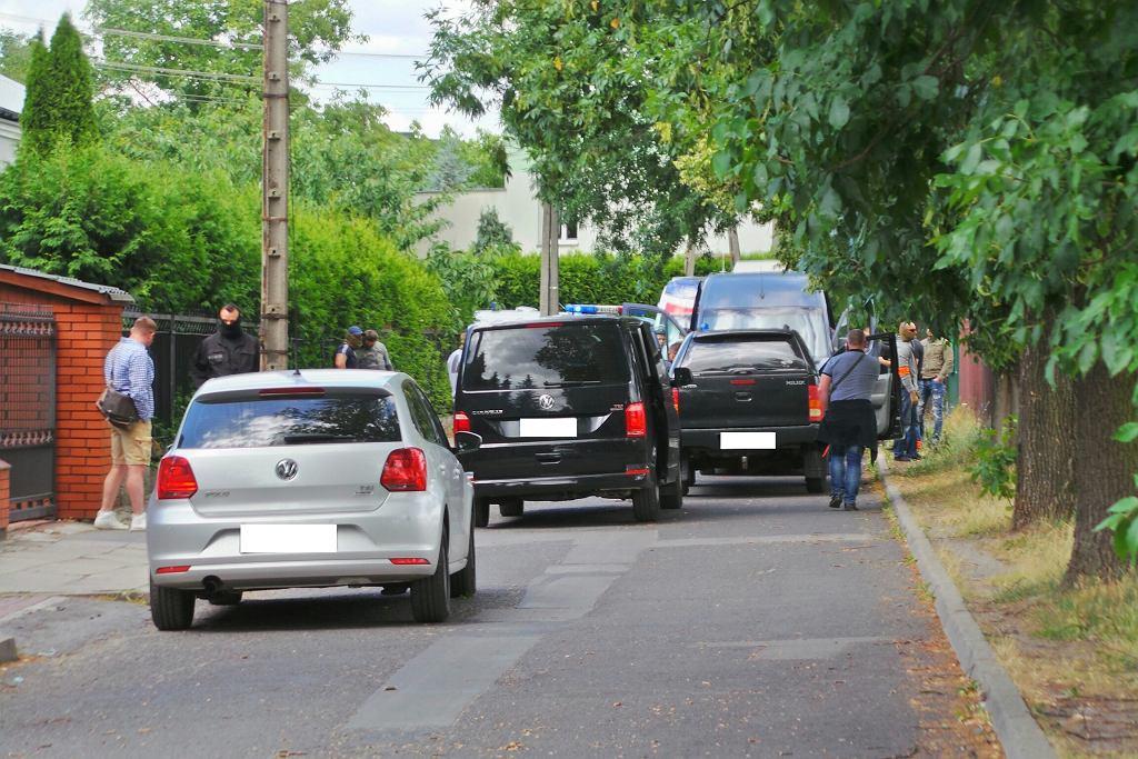 Akcja policji w Ząbkach