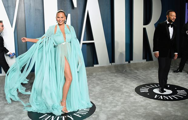 John Legend, Chrissy Teigen, Vanity Fair, Oscary 2020