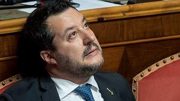 Matteo Salvini w Senacie