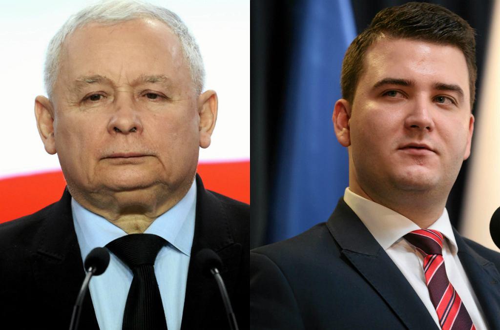 Jarosław Kaczyński, Bartłomiej Misiewicz