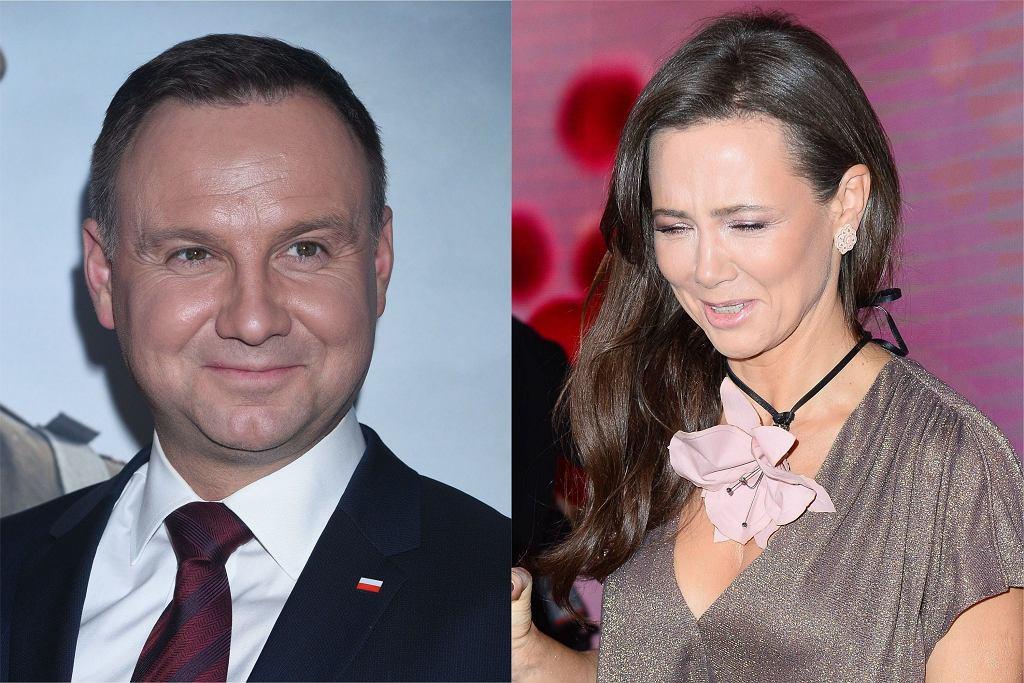 Kinga Rusin Andrzej Duda