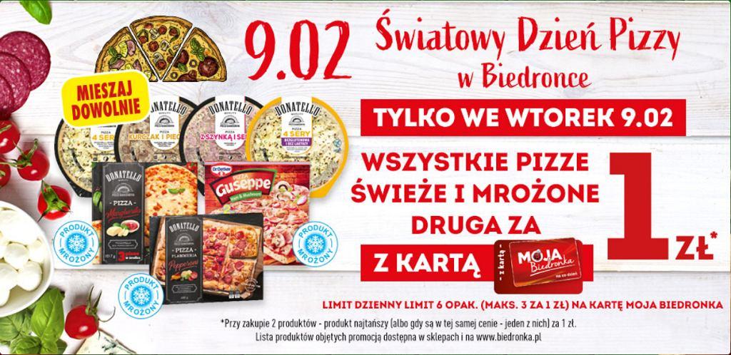 Promocja na pizzę w Biedronce