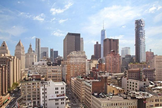 Widok z okien apartamentu Rihanny