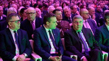 Politycy PO: Jan Grabkowski, Mariusz Wiśniewski, Grzegorz Ganowicz