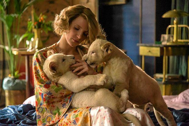 Jessica Chastain w filmie 'Azyl'