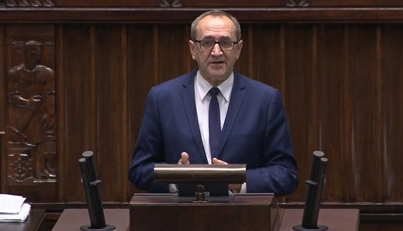 Wiceminister rolnictwa Jacek Bogucki