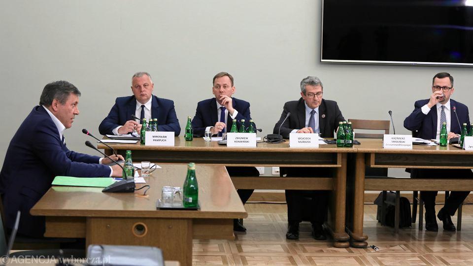 Janusz Piechociński przed Komisją ds VAT, 24.04.2019
