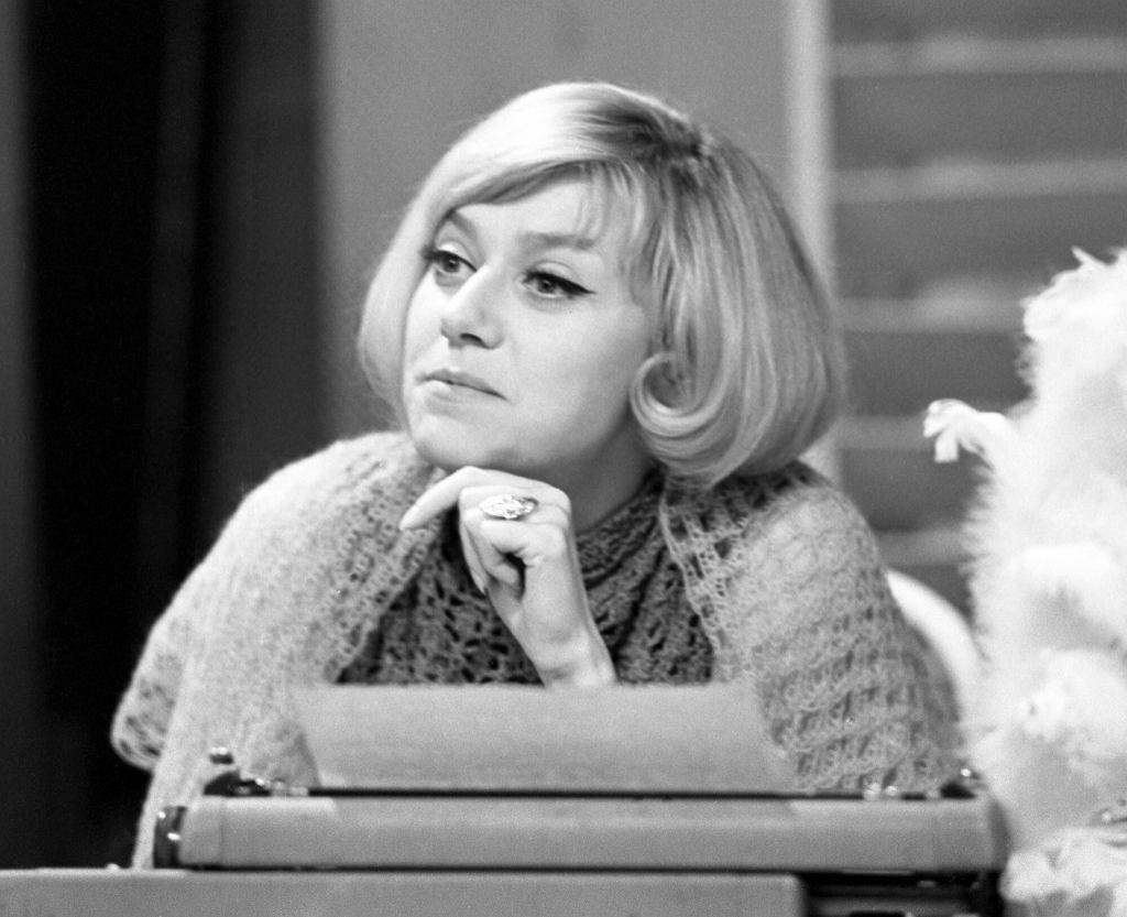 Krystyna Sienkiewicz w 1966 roku