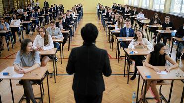 Egzamin gimnazjalny w częstochowskiej szkole