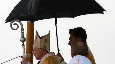 Święto Miłosierdzia Bożego w sanktuarium w Łagiewnikach.