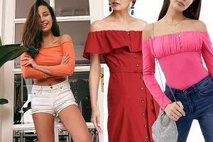 ubrania z odkrytymi ramionami, mat. partnera