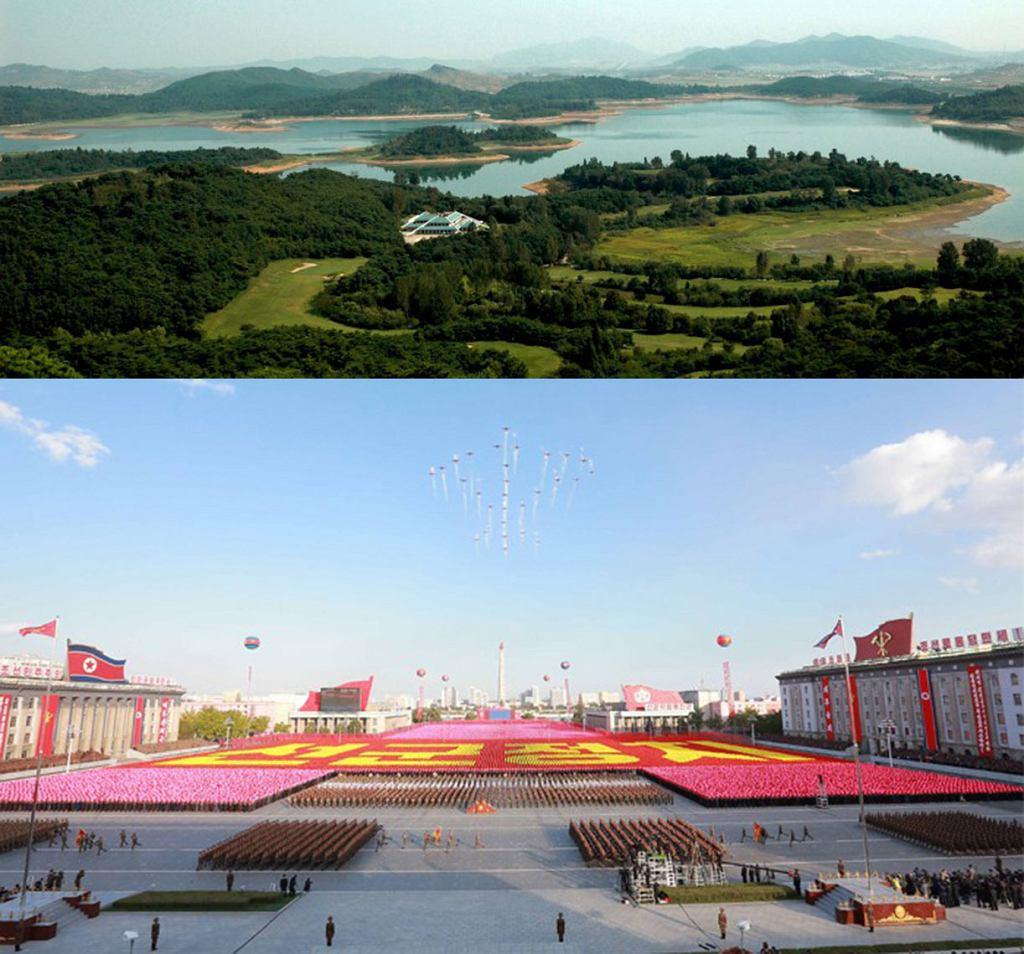 Północnokoreańska strona poświęcona turystytyce