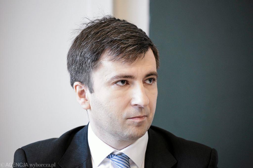 Główny ekonomista PO Andrzej Rzońca