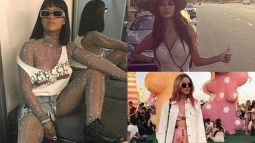 Coachella to festiwal, który przyciąga nie tylko największe gwiazdy muzyki, ale też tłumy fanów. A wśród nich nie brakuje gwiazd. Modelki, piosenkarki czy blogerki na te kilka dni w roku zaplanowały stylizacje, obok których ciężko przejść obojętnie. Jessica Mercedes w pięknej sukni, Nicole Scherzinger w gorsecie... Zwyciężczyni jest jedna. Czegoś takiego jak strój Rihanny jeszcze nie widzieliście!