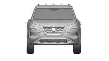 Nissan Rogue 2021, Nissan X-Trail - szkice patentowe