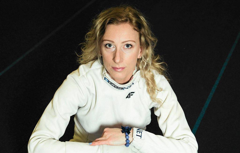 Szablistka, mistrzyni Polski, mistrzyni Europy, medalistka Mistrzostw Świata Aleksandra Socha