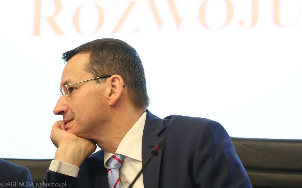 Minister Mateusz Morawiecki