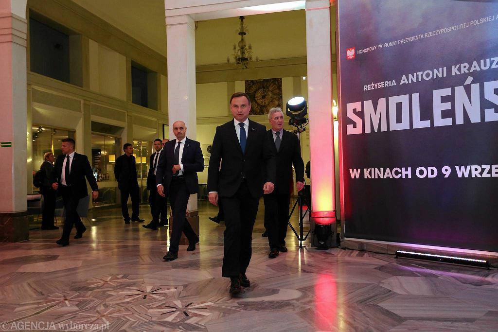 Premiera filmu 'Smoleńsk' / SŁAWOMIR KAMIŃSKI