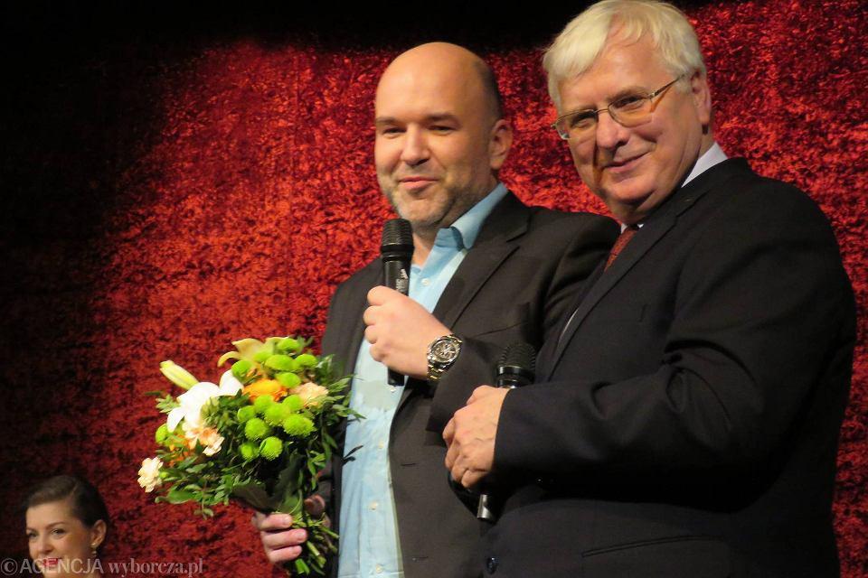 Jarosław Bręk i Wiesław Pietruszak