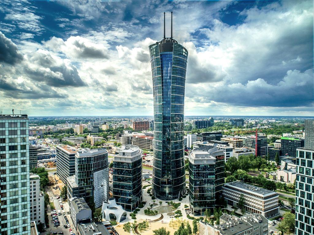 Wieżowiec Warsaw Spire na Woli
