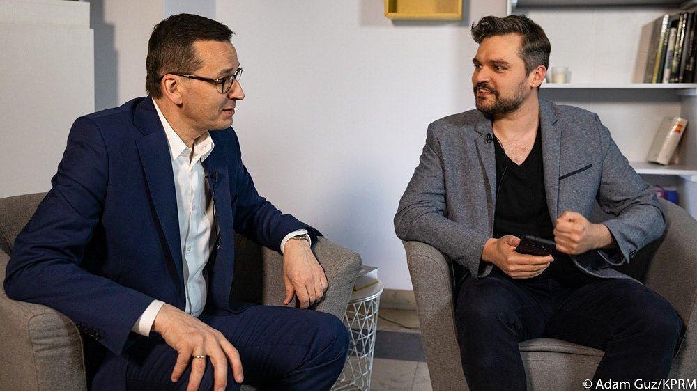 Rozmowa Adama Drzewickiego z premierem Mateuszem Morawieckim