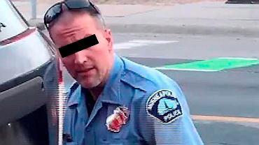 Derek Chauvin (na zdjęciu), policjant, który udusił czarnoskórego George'a Floyda, aresztowany i oskarżony o morderstwo