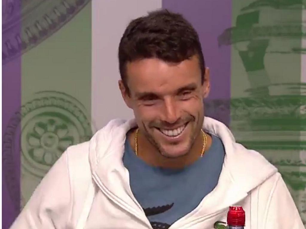 Sensacyjny półfinalista Wimbledonu