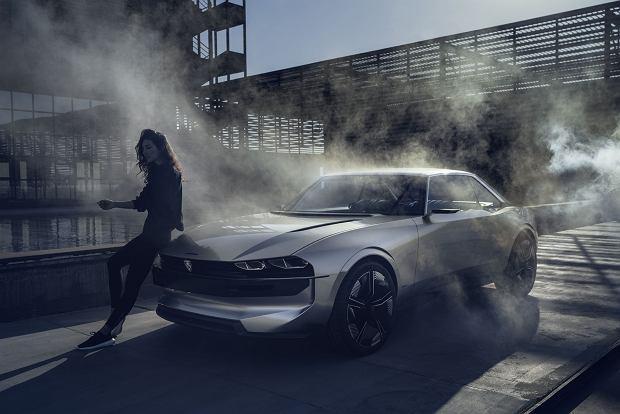Stare i nowe w jednym - Peugeot e-Legend Concept