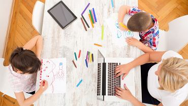 Dzieci i praca (zdjęcie ilustracyjne)