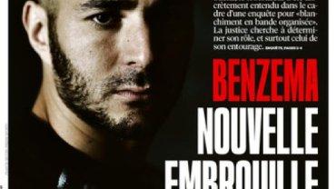 "Benzema i okładka ""Liberation"""
