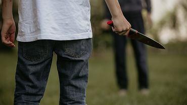 Ośmiolatek przyszedł do szkoły z nożem. Wyszło na jaw, że wcześniej miał znęcać się nad innymi dziećmi