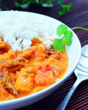 Pomidorowe curry