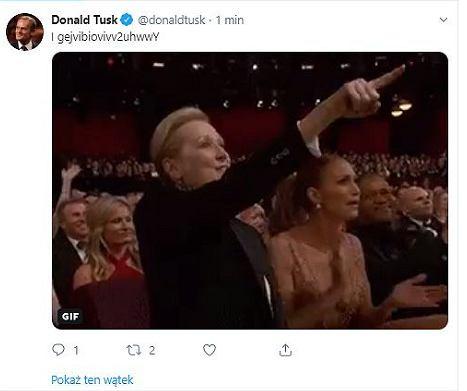 Niecodzienne wpisy na koncie Donalda Tuska
