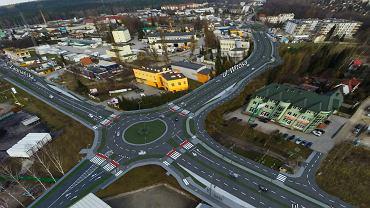 Kielce. Wizualizacja rozbudowy ulic Zagnańskiej i Witosa oraz połączenia z Radomską