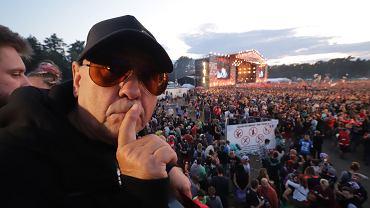 Jerzy Owsiak na Pol`and`rock Festival