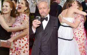 Jessica Chastain, Drew Barrymore, Michael Douglas, Jennifer Lawrence