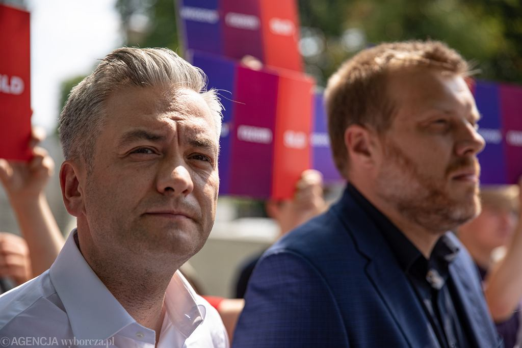 Robert Biedroń i Adrian Zandberg
