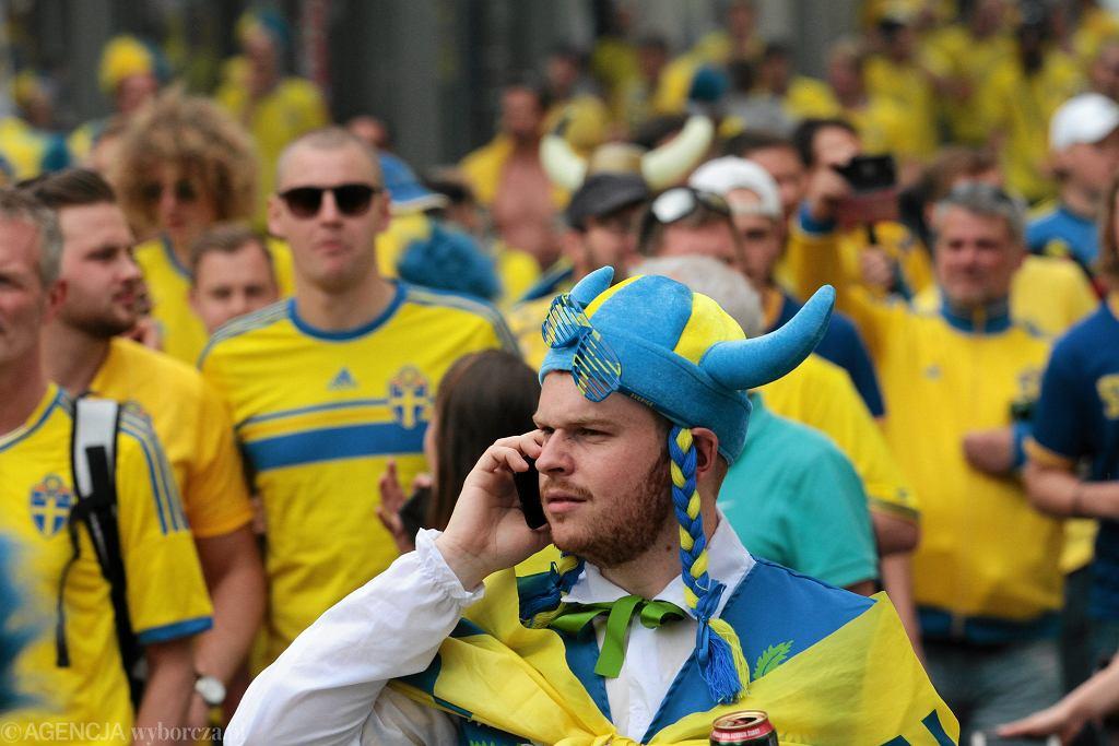 Szwedzcy kibice w Polsce