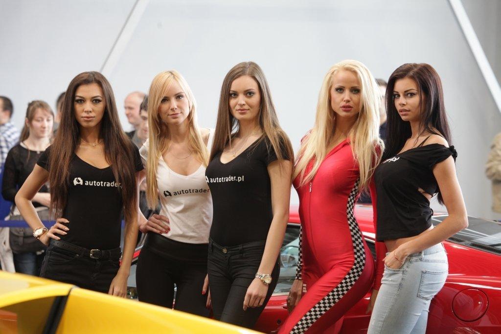 Dziewczyny na Motor Show 2015