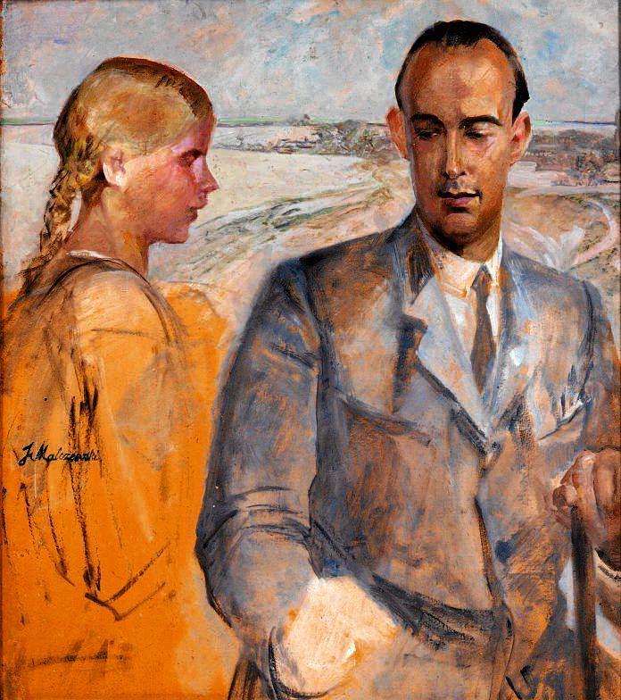 Jacek Malczewski, Portret Rafała Malczewskiego, ok. 1920 / MUZEUM NARODOWE W SZCZECINIE