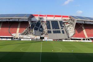 Katastrofa budowlana w Holandii. Zawalił się dach na stadionie AZ Alkmaar