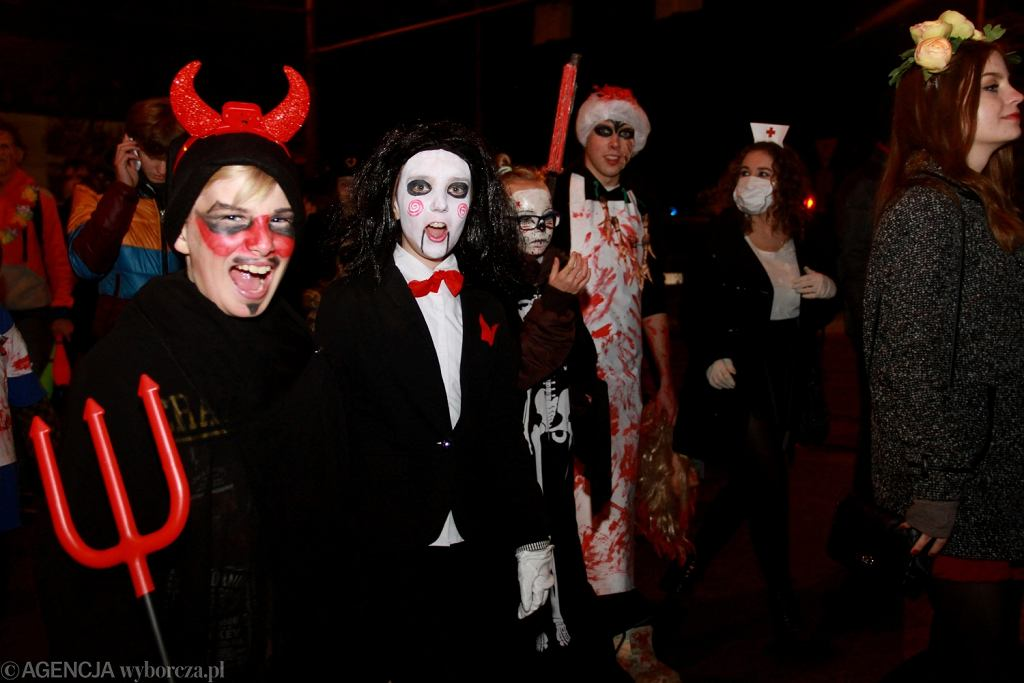 Parada Halloween we Wroclawiu