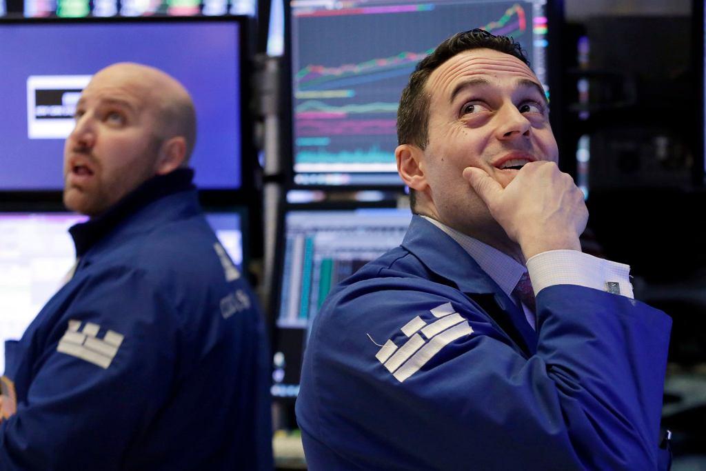 Wall Street, 5 lutego 2018.