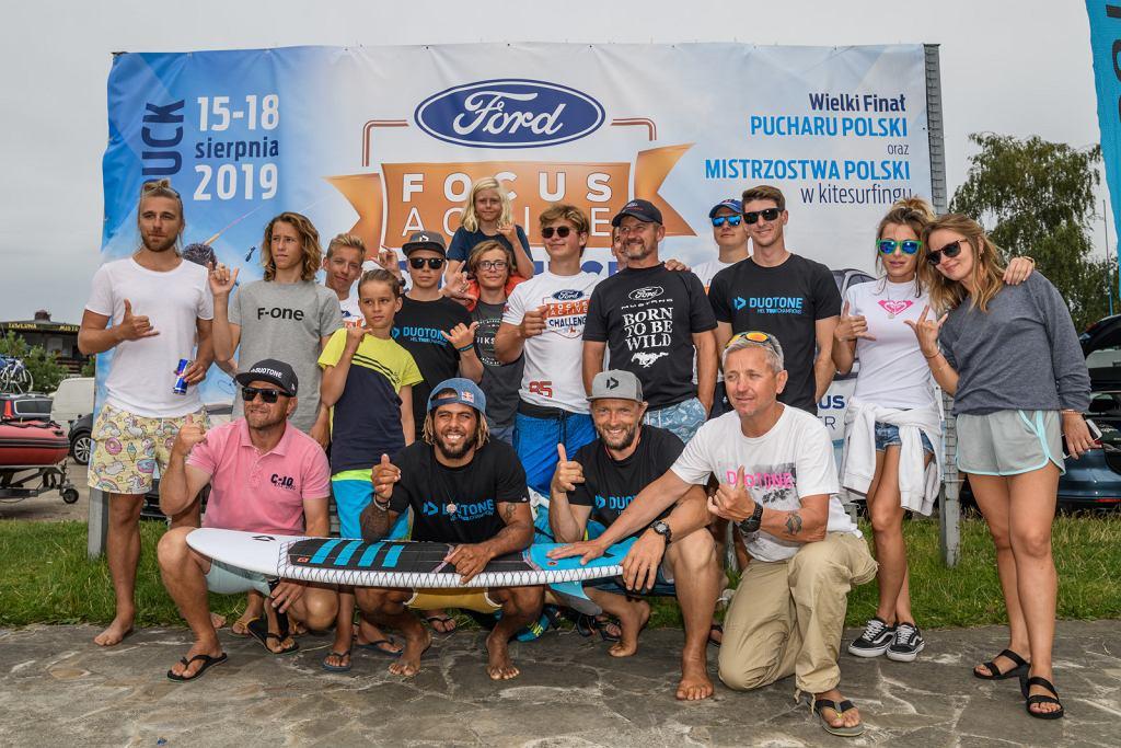 Ford Focus Active Challenge. Znamy mistrzów Polski w kitesurfingu 2019