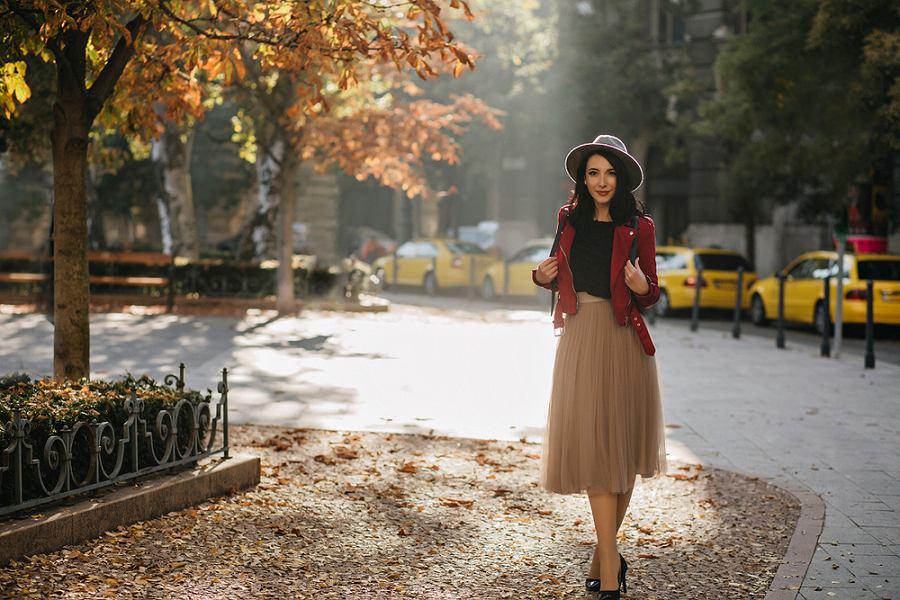 Spódnica na jesień
