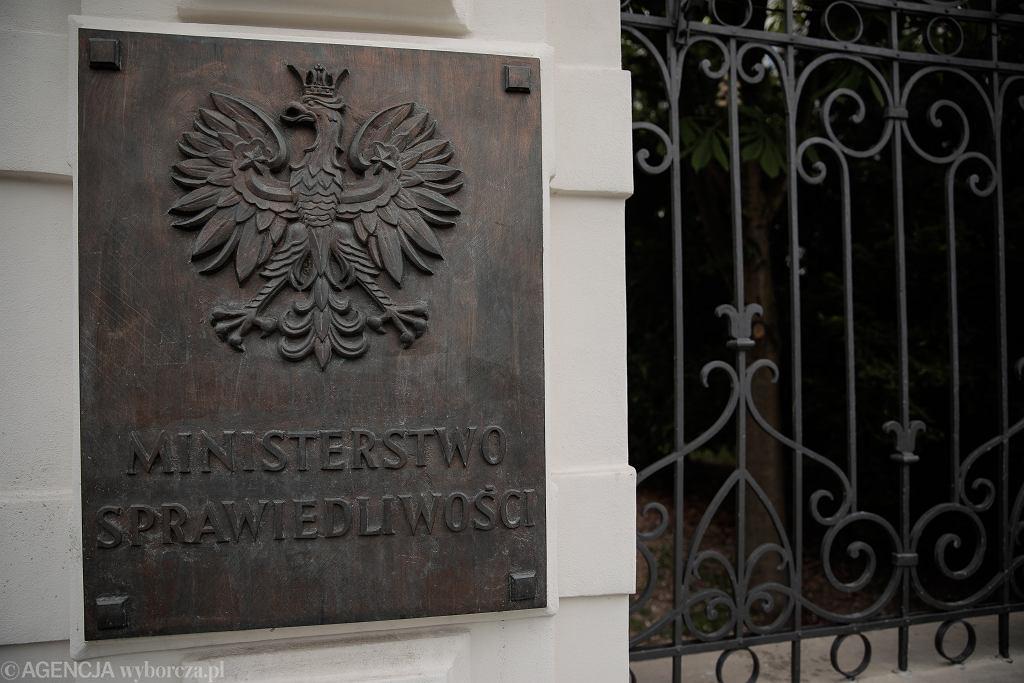Ministerstwo Sprawiedliwości. Zdjęcie ilustracyjne