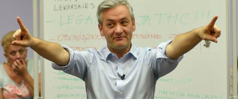 Partia Biedronia jeszcze nie istnieje, a już dostaje 3 miejsce w Sejmie