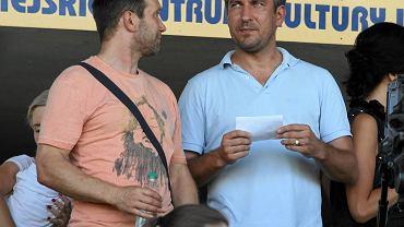 Wojciech Szala (z prawej) nie jest już dyrektorem sportowym GKS Tychy